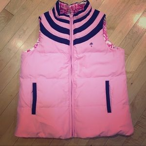 Lilly Pulitzer girls reversible vest